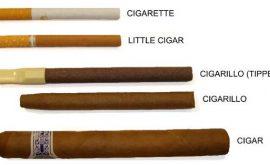 Sự khác nhau giữa xì gà mini và thuốc lá